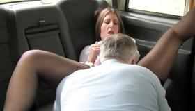 Sluttish bitch treated by a horrible man