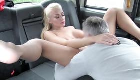 Amazing slut is sucking on heavy big knob