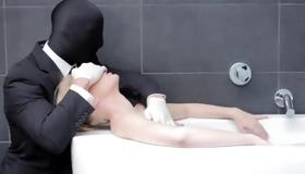 Dude is mask behaving dirty with lovely bitch