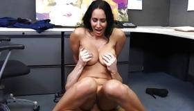 Bent over vicious slut is drilled hard core